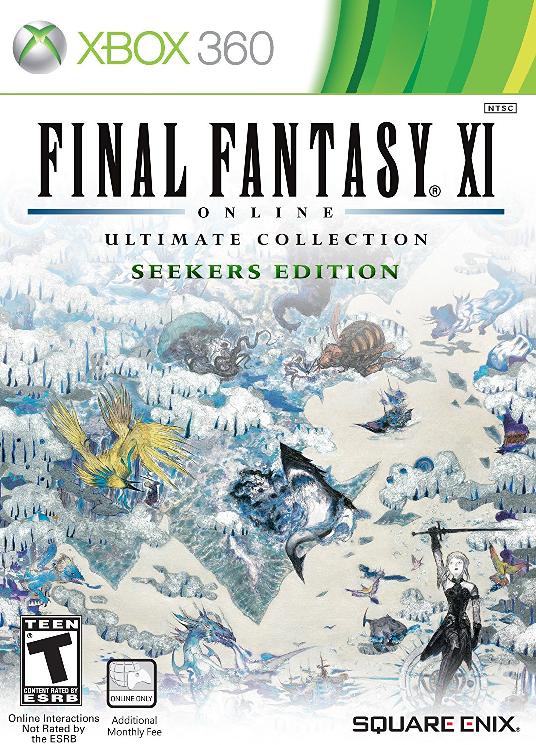 Final Fantasy Xi Ultimate Collection Seekers Edition Xbox 360 Ebony Gamer Girl